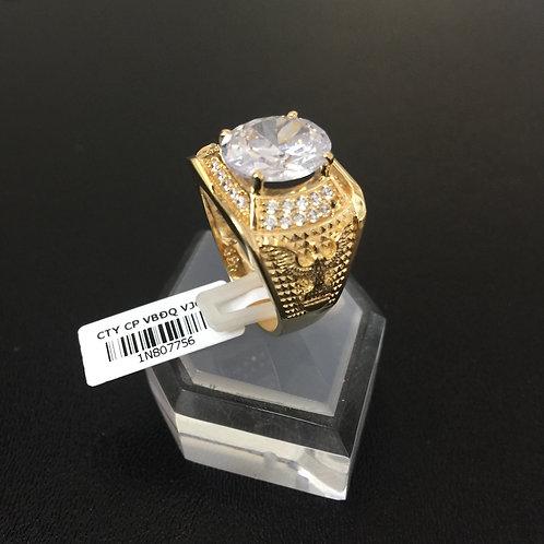 Nhẫn vàng nam đá trắng VJC 610