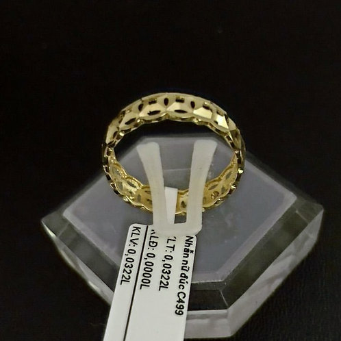 Nhẫn nữ vàng kim tiền
