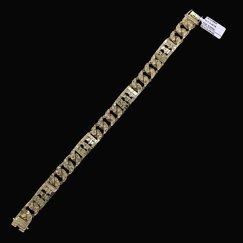 Lắc tay Nam vàng VJC 610