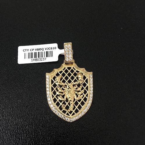 Mặt dây chuyền vàng con bọ cạp  VJC 610
