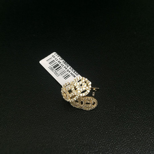 Bông tai vàng nữ đồng tiền VJC 610