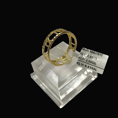 Nhẫn nữ vàng VJC 610