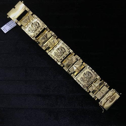Lắc tay Nam Rồng vàng