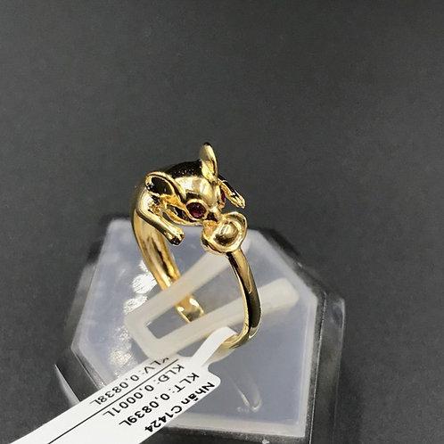 Nhẫn nữ Chuột vàng