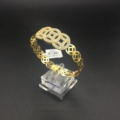 Vòng tay vàng nữ đồng tiền VJC 610