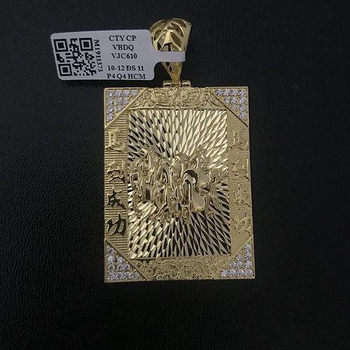 Mặt dây vàng mã đáo thành công VJC 610