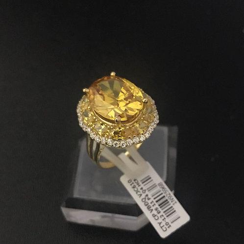Nhẫn nữ vàng đá vàng