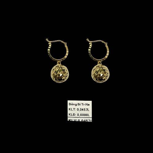 Bông tai bi vàng trung VJC 610