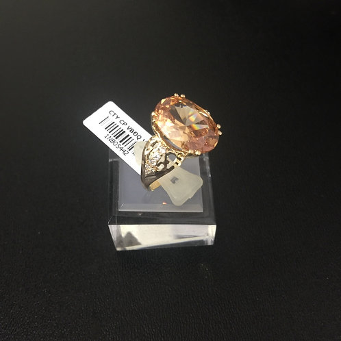 Nhẫn vàng nữ đá vàng VJC 610