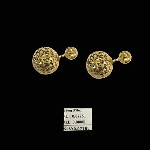 Bông tai bi vàng VJC 610
