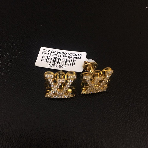 Bông tai vàng LV VJC 610