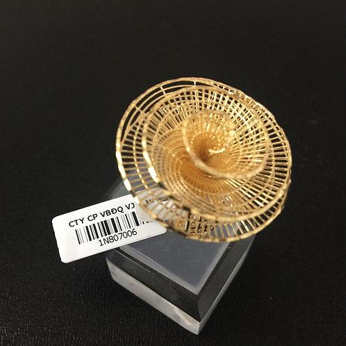 Nhẫn vàng nữ đoá hoa lớn VJC 610