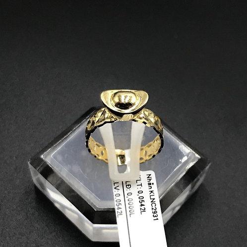 Nhẫn nữ thỏi vàng