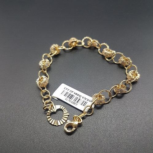 Lắc tay vàng nữ VJC 610
