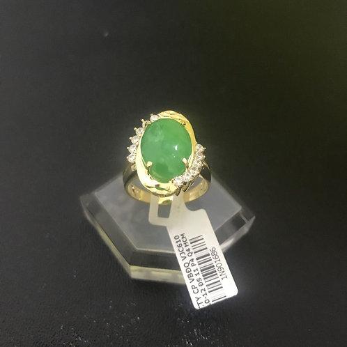 Nhẫn vàng nữ cẩm thạch VJC 610
