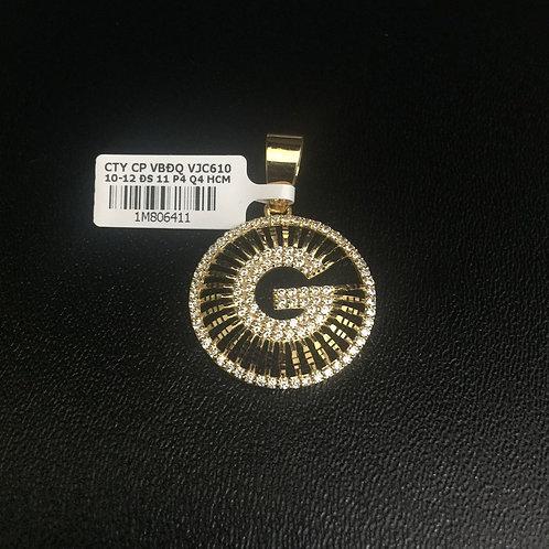 Mặt dây chuyền vàng gucci VJC 610