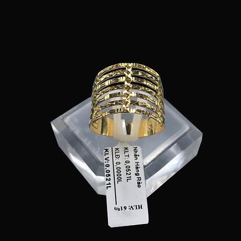 Nhẫn nữ hàng rào vàng VJC 610
