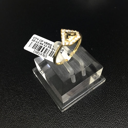 Nhẫn vàng nữ hình viên kim cương VJC 610