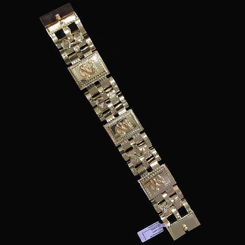 Lắc tay Nam Rồng vàng VJC 610