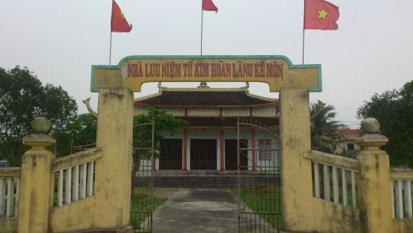 Nhà thờ Tổ nghề kim hoàn tại làng Kế Môn.