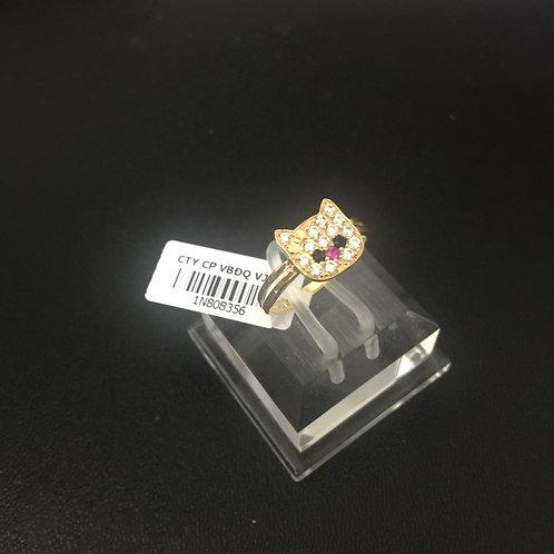 Nhẫn vàng nữ con mèo VJC 610