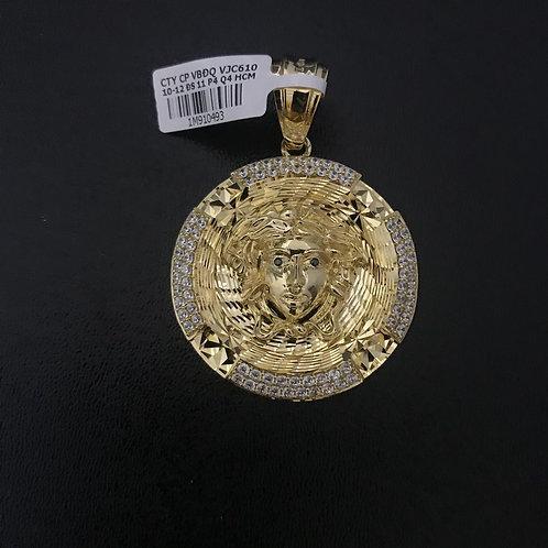 Mặt dây Thiên thần vàng đá trắng VJC 610