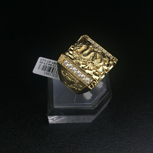 Nhẫn vàng nam rồng VJC 610
