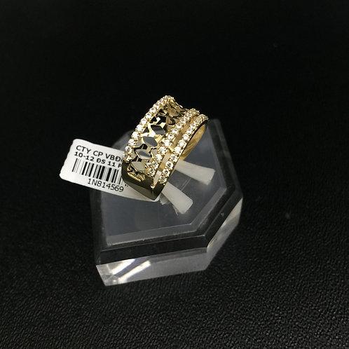 Nhẫn vàng nữ hoa văn VJC 610