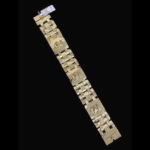Lắc tay Nam ngựa vàng VJC 610