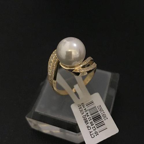 Nhẫn nữ vàng hột bẹt VJC 610