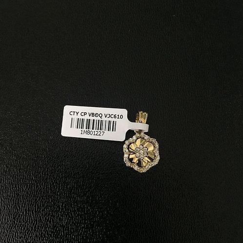 Mặt dây chuyền vàng bông hoa VJC 610