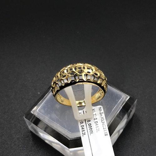 Nhẫn nữ kim tiền vàng