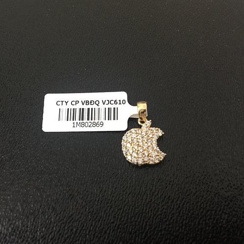 Mặt dây chuyền vàng nữ trái táo VJC 610