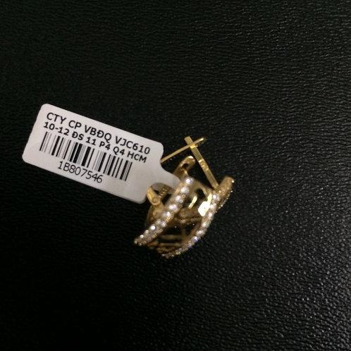 Bông tai vàng VJC 610