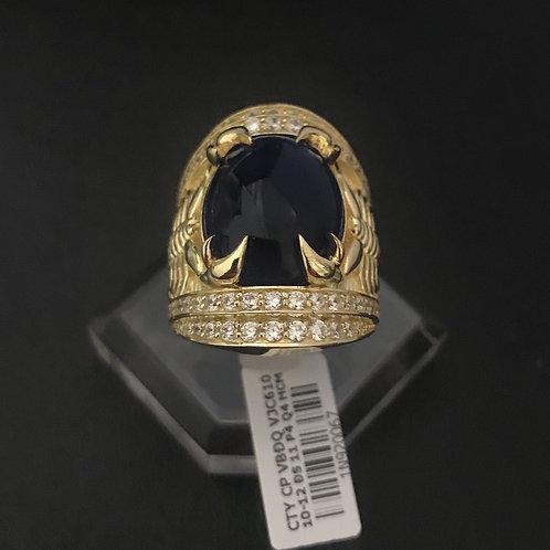 Nhẫn nam bọ cạp vàng đá Xanh lá VJC 610