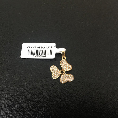 Mặt dây chuyền vàng nữ bông hoa VJC 610