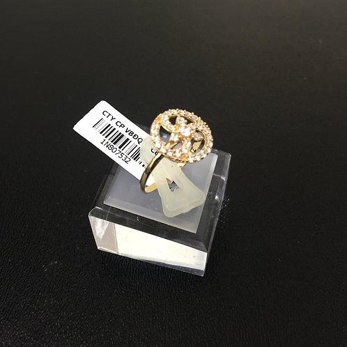 Nhẫn vàng nữ hoa tròn VJC 610