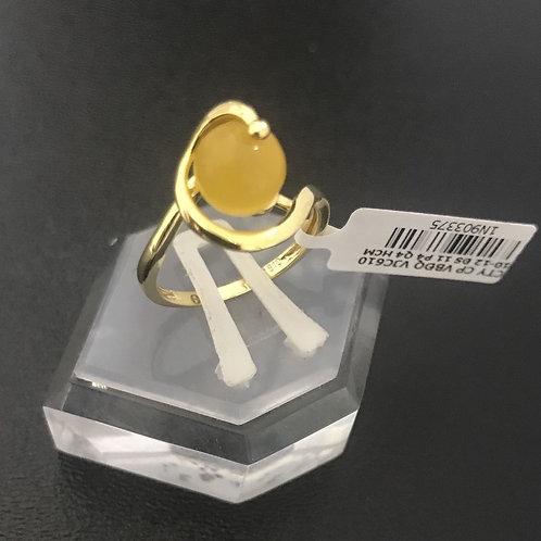 Nhẫn nữ đá màu vàng VJC 610