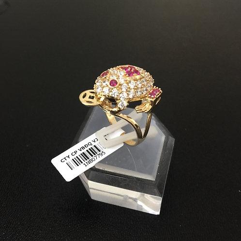 Nhẫn vàng nữ con cóc VJC 610