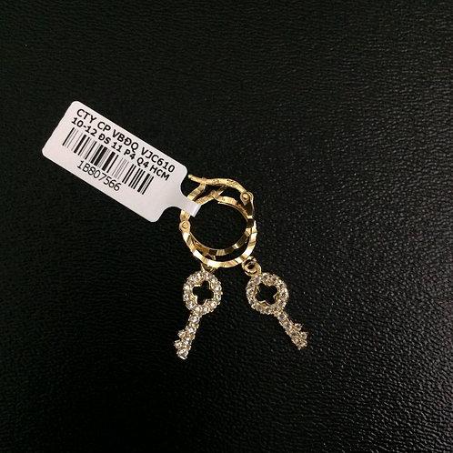 Bông tai vàng chìa khoá VJC 610