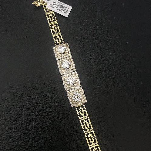 Lắc tay nữ vàng đá trắng VJC 610