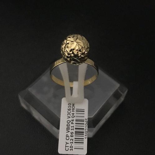 Nhẫn nữ vàng một hạt châu VJC 610