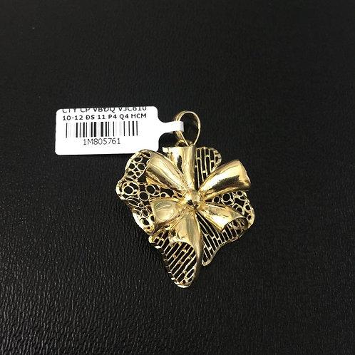 Mặt dây chuyền vàng hoa VJC 610