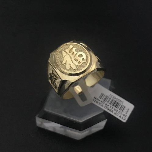Nhẫn vàng nam chữ Phúc lớn VJC 610