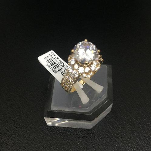 Nhẫn vàng nữ đá trắng