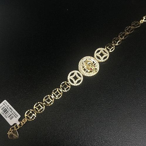 Lắc tay nữ đồng tiền vàng VJC 610