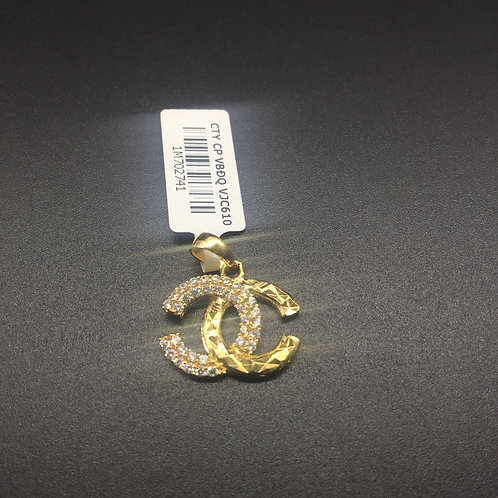 Mặt dây chuyền vàng chanel VJC 610