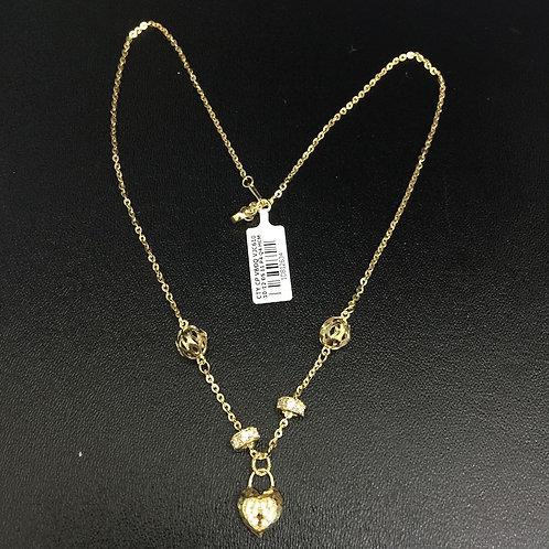 Dây chuyền Vàng nữ trái tim VJC 610