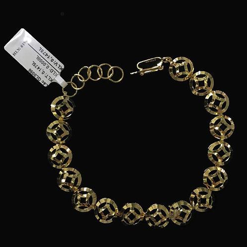 Lắc tay đồng tiền vàng