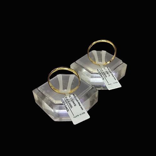 Cặp Nhẫn cưới vàng trơn